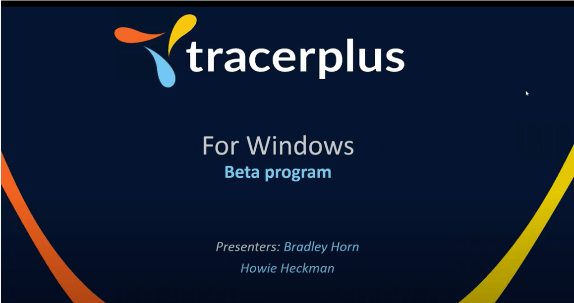 TracerPlus Webinar for Windows